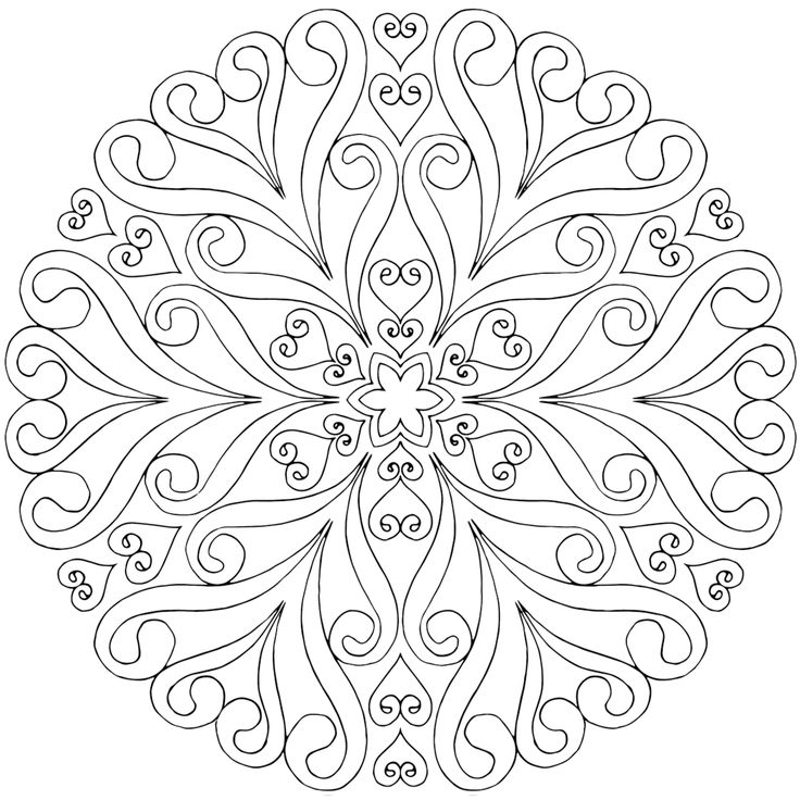 Free Mandala Coloring Pages Get Coloring Pages