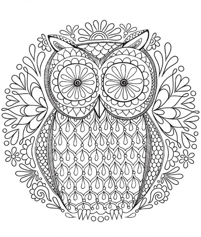 20+ Free Printable Mandala Coloring Pages For Adults