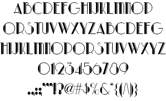 The Late Gatsby Font Befonts.com