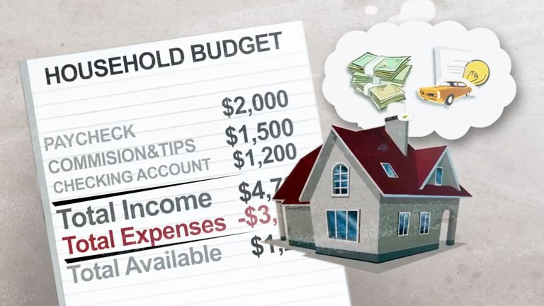 Household Budget Worksheet