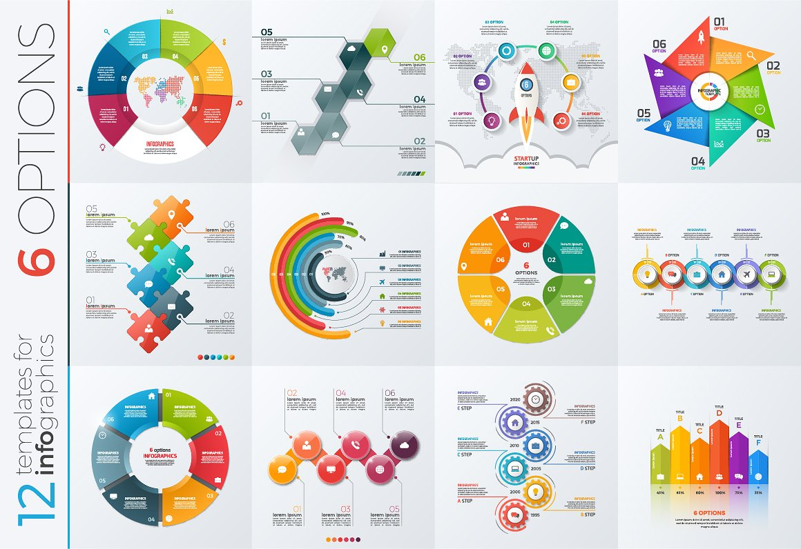 40 Free Infographic Templates to Download Hongkiat