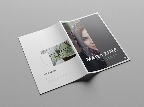Mega Professional 24 Pages Magazine Template 001102 Template Catalog