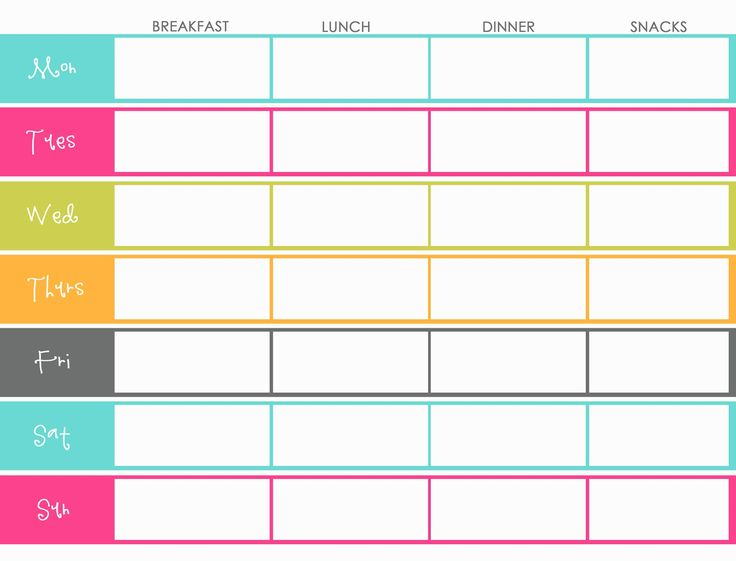 printable food calendar Kleo.beachfix.co