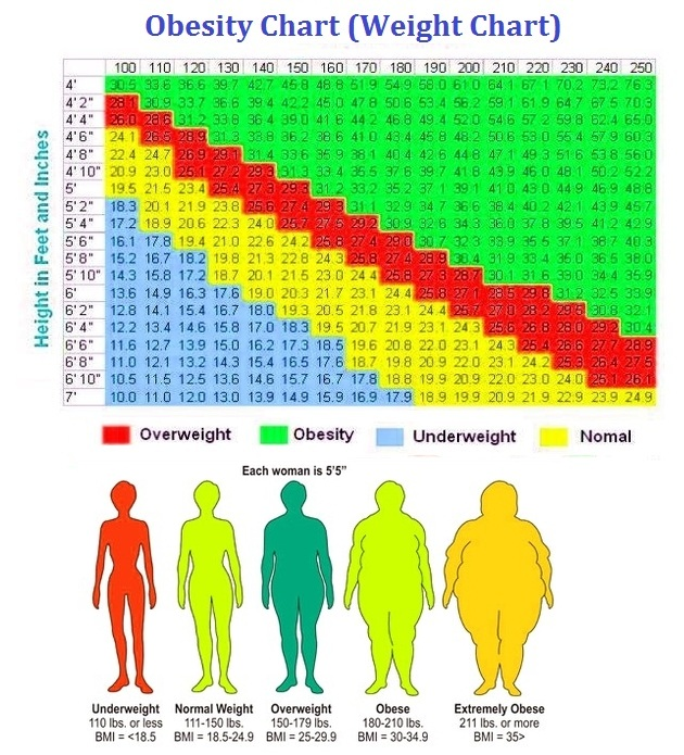 obesity chart 2018 Kleo.beachfix.co