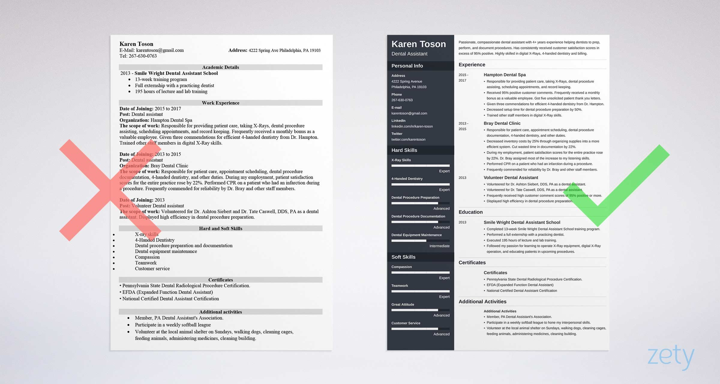 One Page Resume Templates: 15 Examples to Download and Use Now