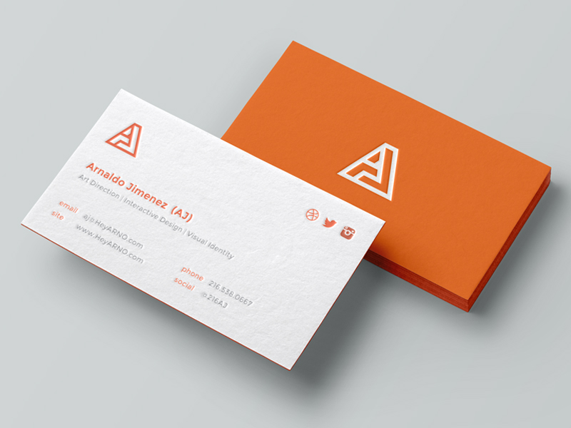 Personal business cards (3) – Card Design Ideas
