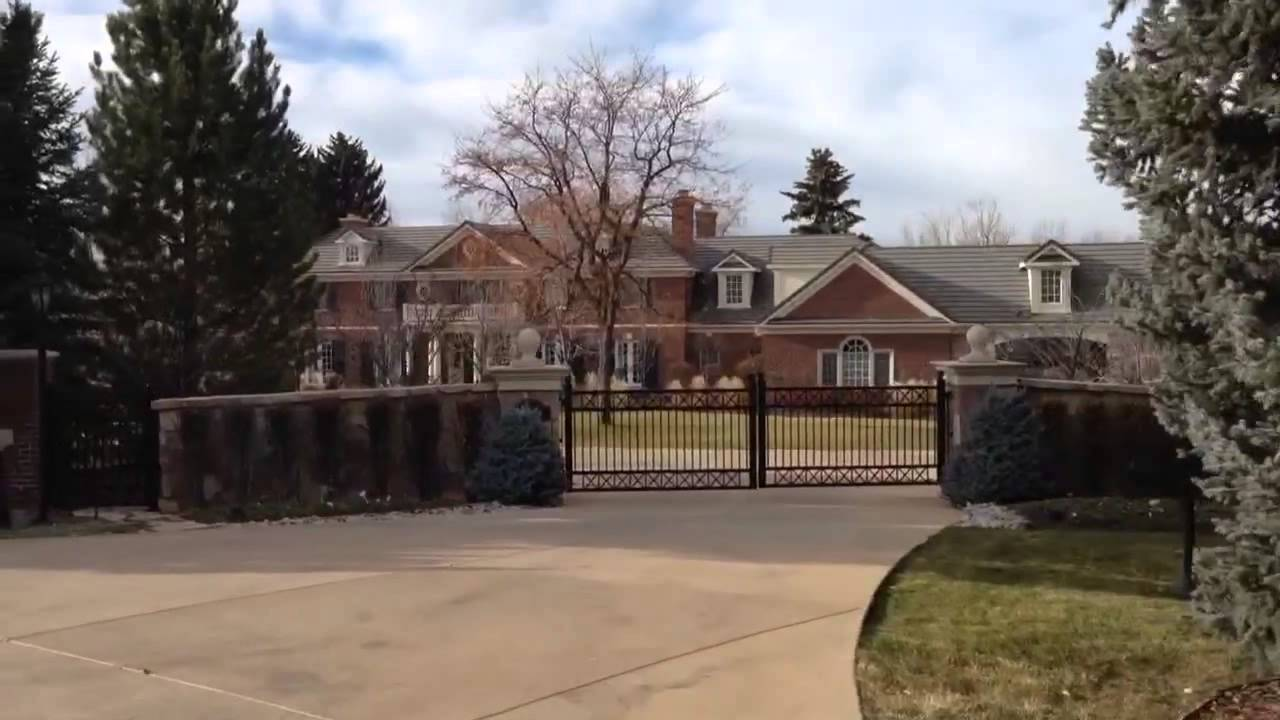 A Visit to Peyton Manning's House Walking with Joel 12/3 YouTube