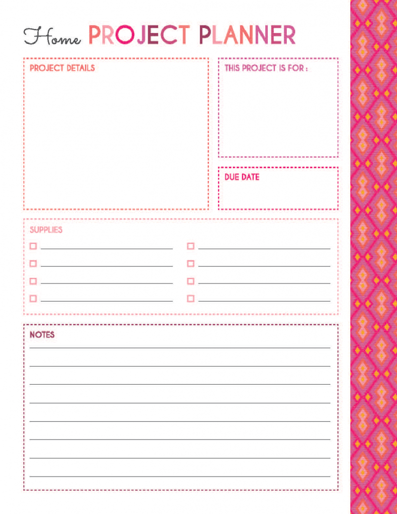 200 Printable Planner Pages – Planner Addiction