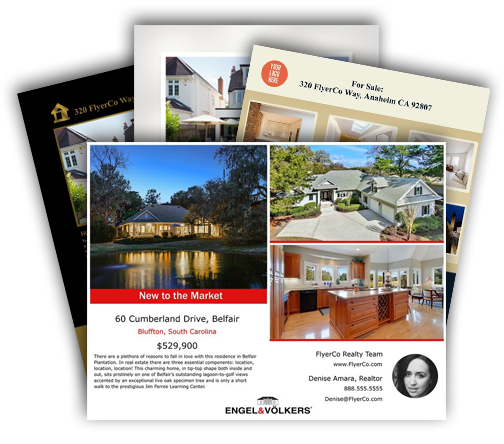 FlyerCo Create Beautiful Real Estate Flyers to Download, Print