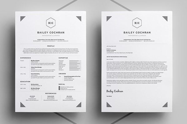 50 inspiring resume designs: And what you can learn from them – Learn