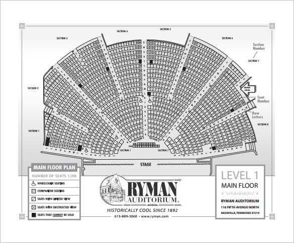 ryman seating chart Kleo.beachfix.co