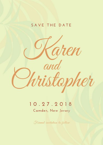 Save The Date Card Templates (Free) | Greetings Island