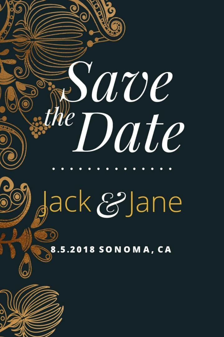 Customize 4,985+ Save The Date Invitation templates online Canva