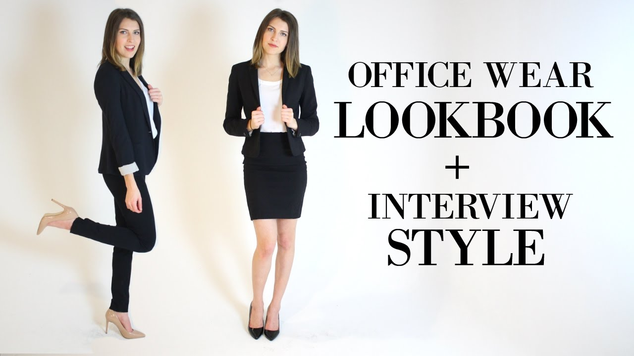 What to Wear for an Interview || Work Clothes for Women YouTube