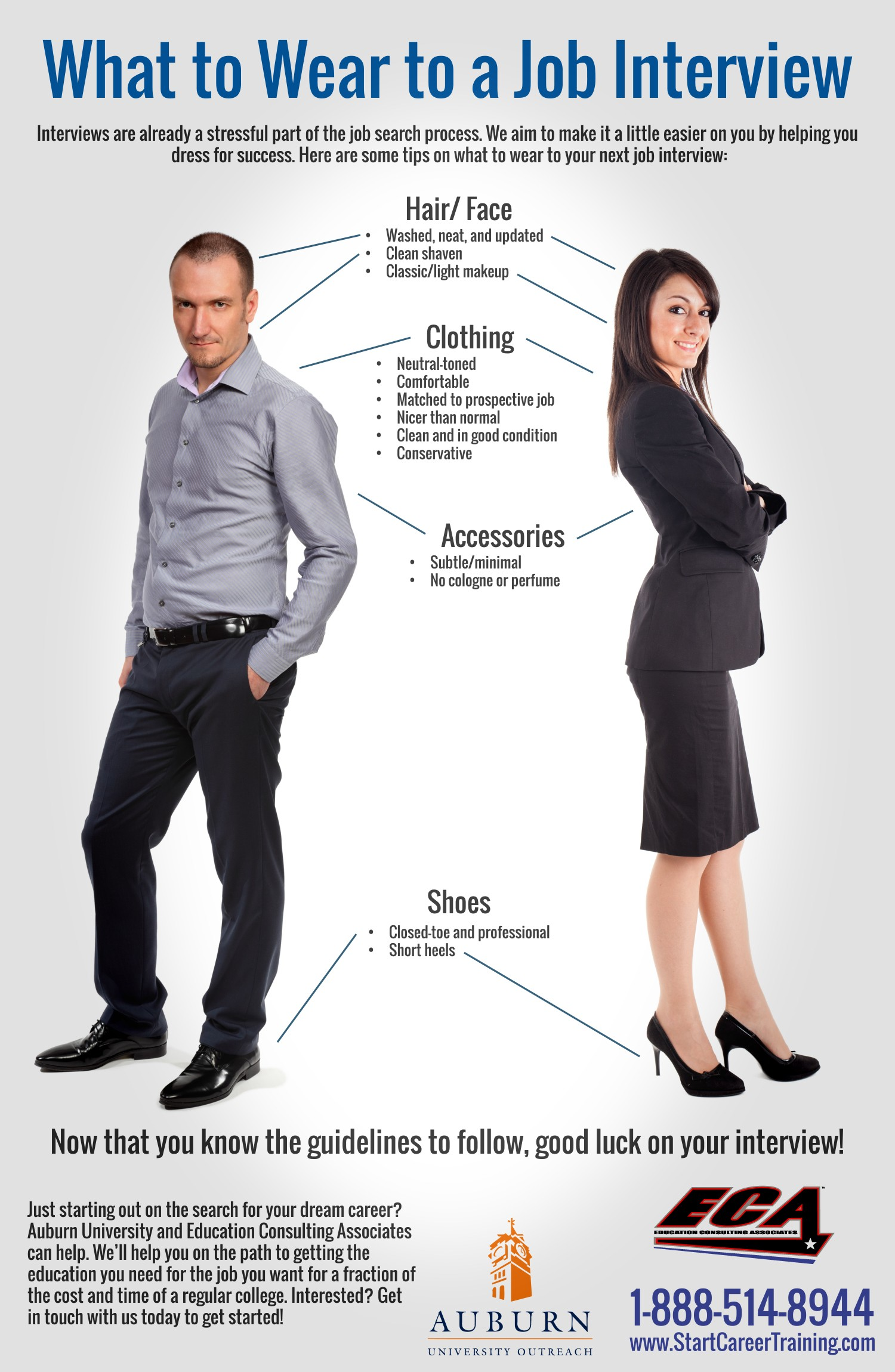 What to Wear to a Job Interview | Visual.ly