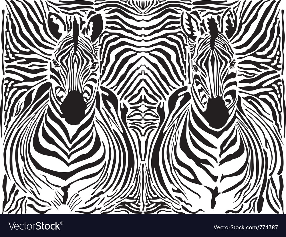 Seemless Zebra Pattern Royalty Free Cliparts, Vectors, And Stock