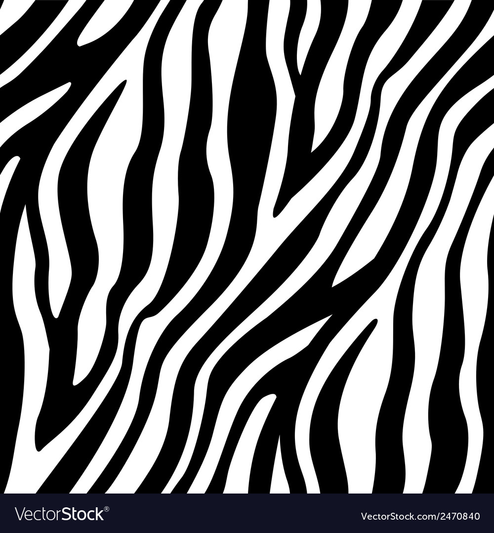 Zebra Stripes Seamless Pattern Royalty Free Vector Image